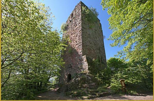 Capture chateau nideck
