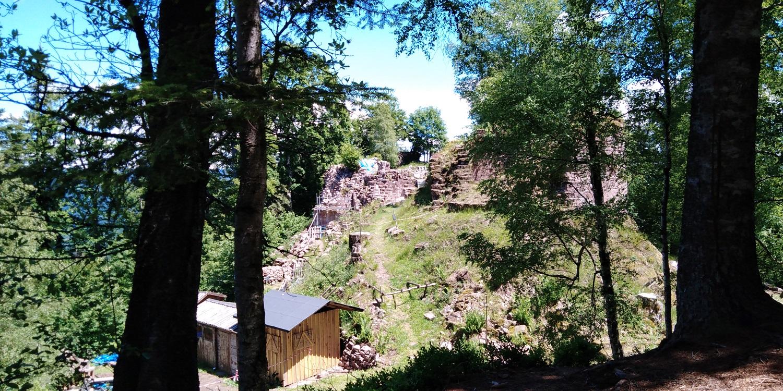 Ruines du chateau de Salm