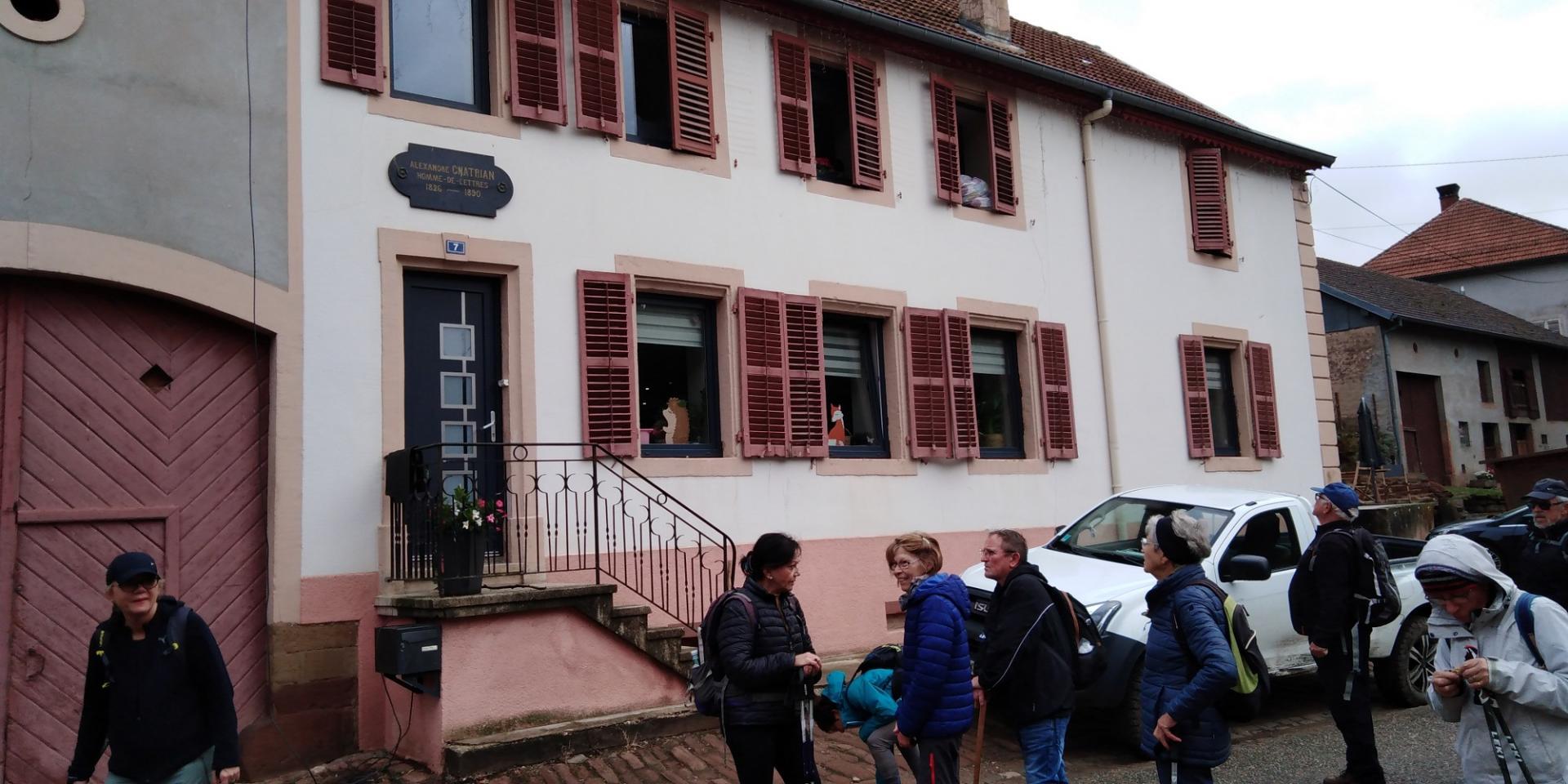 Maison natale Chatrian